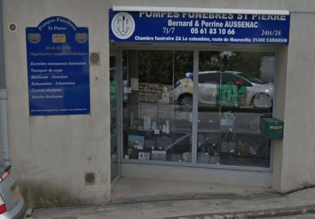 Photographie Pompes Funèbres Saint-Pierre de Caraman