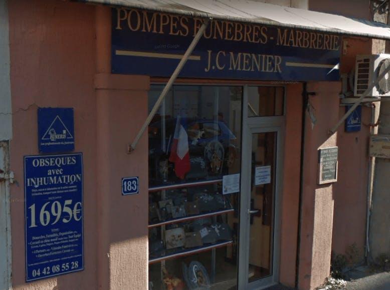 Photographie Pompes funèbres JC Menier La Ciotat