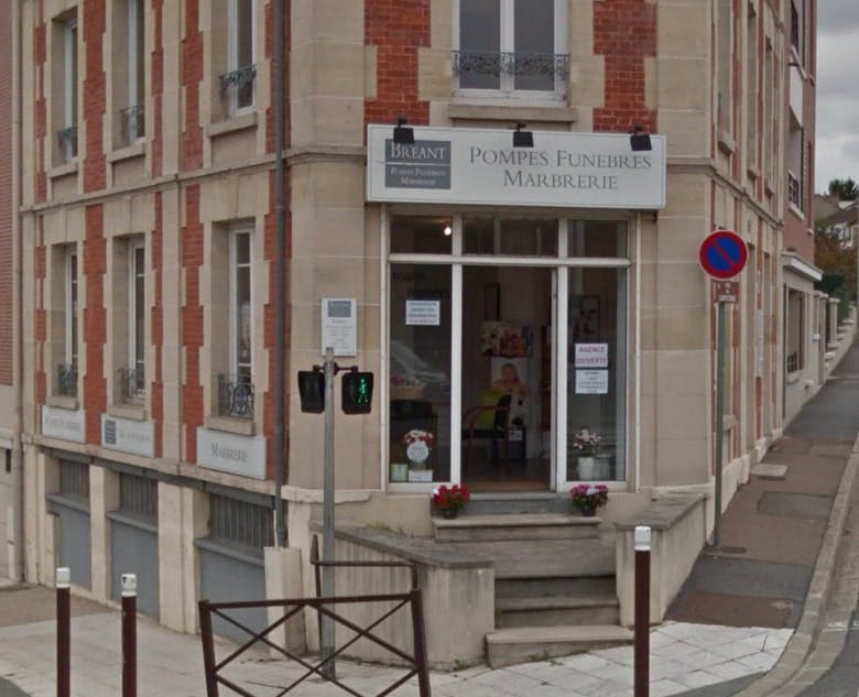 Photographies des Pompes Funèbres Marbrerie Breant à Poissy