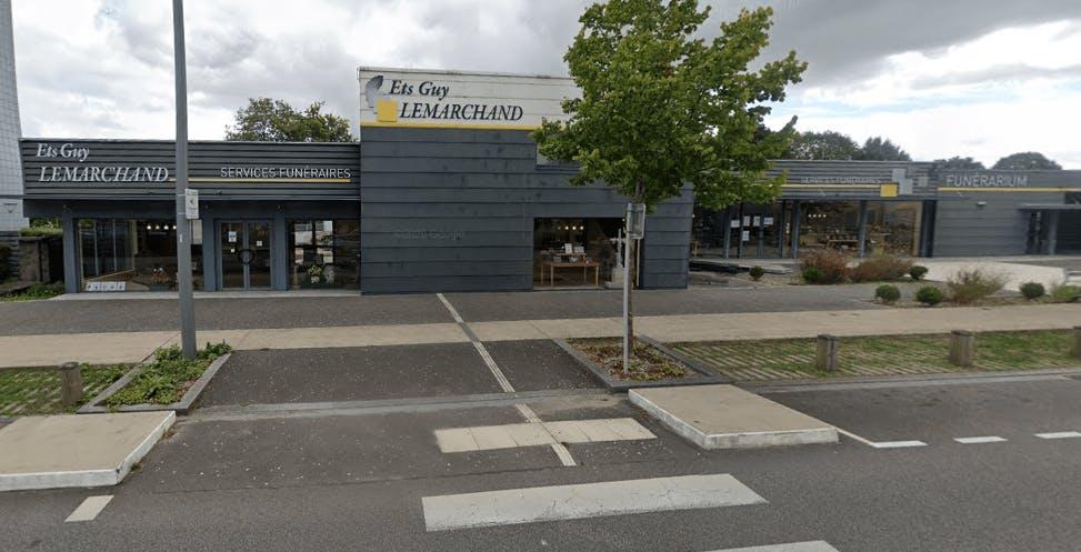 Photographie Pompes funèbres Funérarium Lemarchand La Roche-sur-Yon