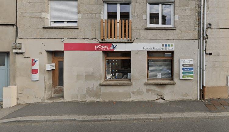 Photographie de la Pompes Funèbres Breso-Roux à Saint-Héand