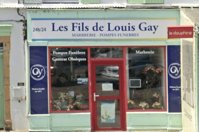 Photographie Pompes Funèbres Les Fils de Louis Gay de Serrières