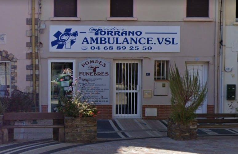 Photographie de la Pompes Funèbres Torrano à Sorède