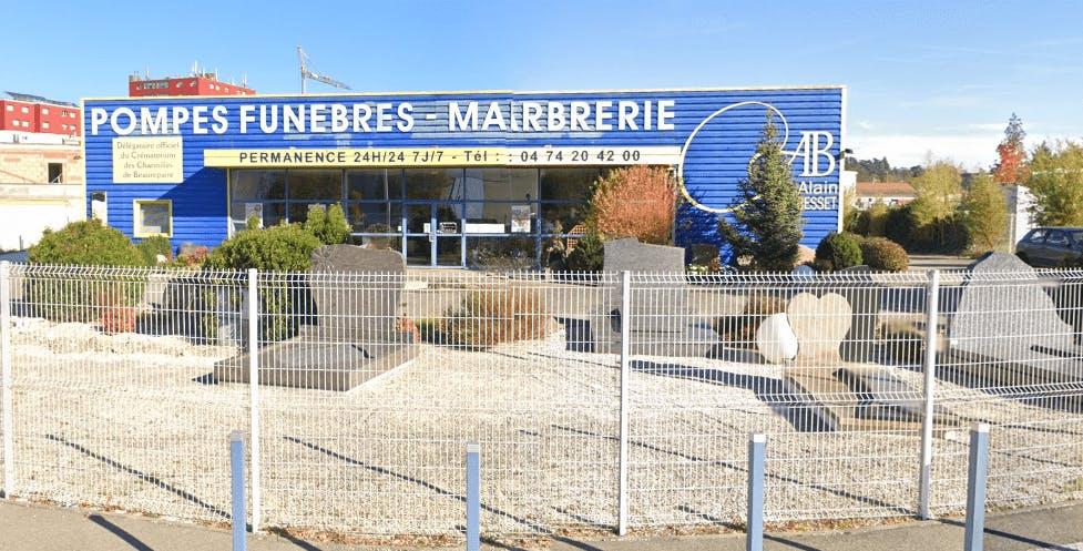 Photographie de la Pompes Funèbres Alain Besset à Pont-Évêque