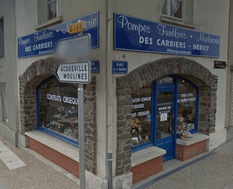Photographie Pompes Funèbres des Carriers de Cesny-Bois-Halbout