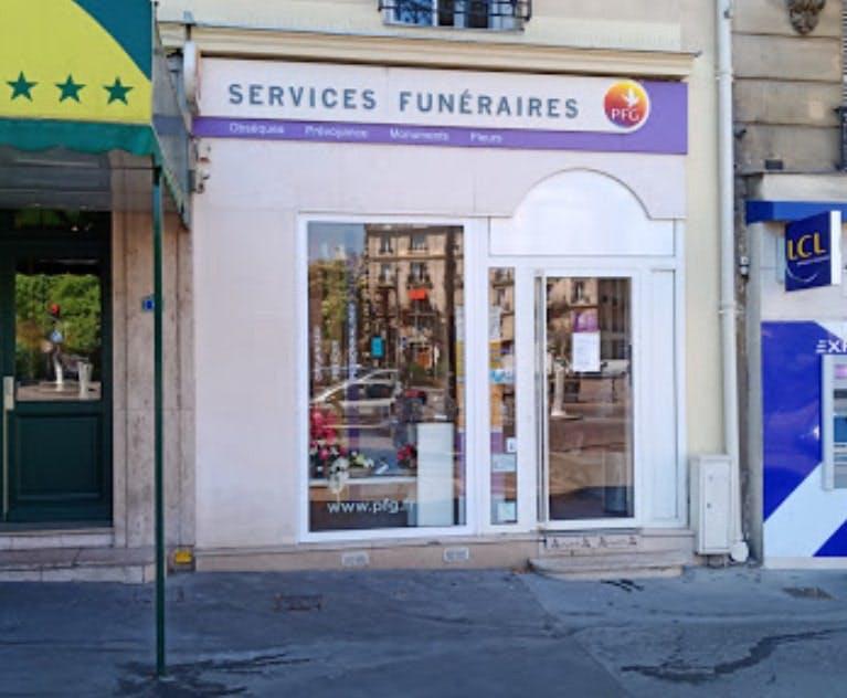 Photographies des Pompes Funèbres Générales à Paris