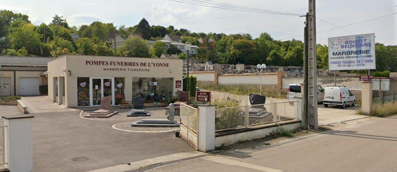 Photographies des Pompes Funèbres Delassasseigne à Pont-sur-Yonne
