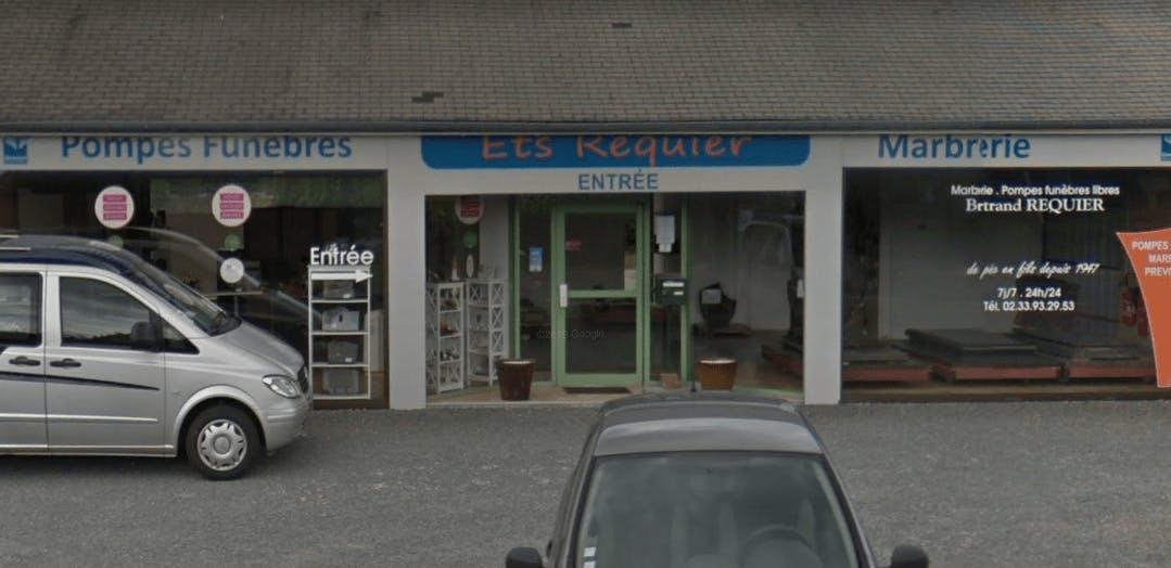 Photographie de la Pompes Funèbres et Marbrerie Requier à Valognes