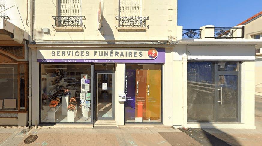 Photographie de la Pompes Funèbres Générales à Villeneuve-le-Roi