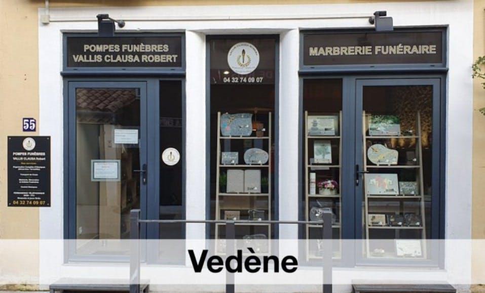 Photographies des Pompes Funèbres Vallis Clausa Robert à Vedène
