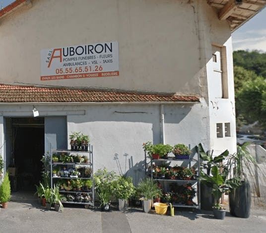 Photographie de la Pompes Funèbres Auboiron de la ville de Chambon-sur-Voueize