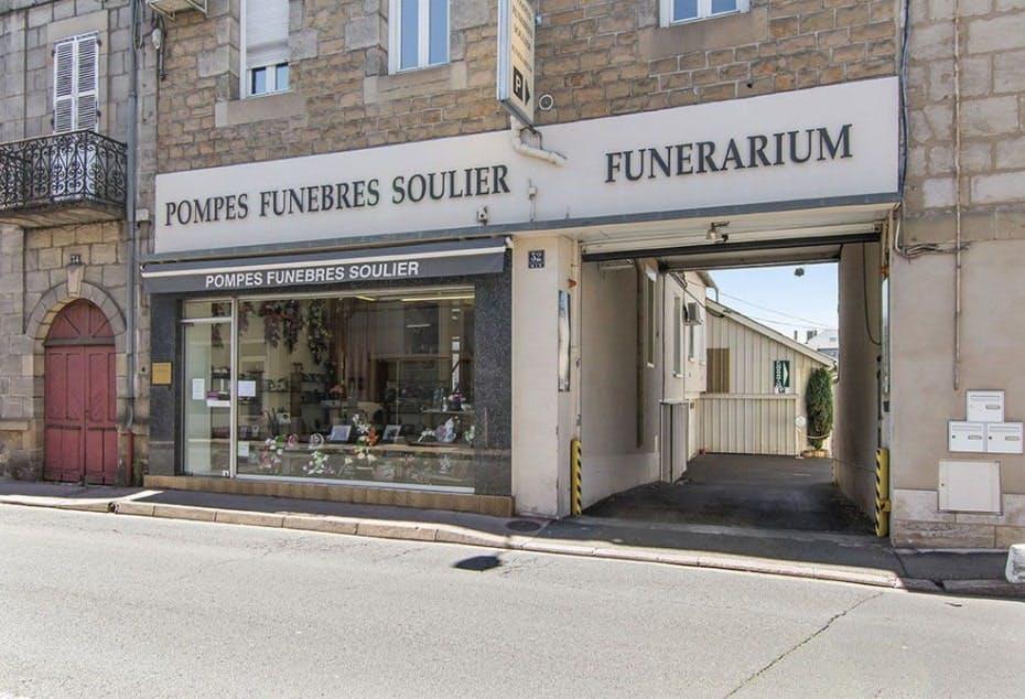 Photographies des Pompes Funèbres Soulier à Brive-la-Gaillarde