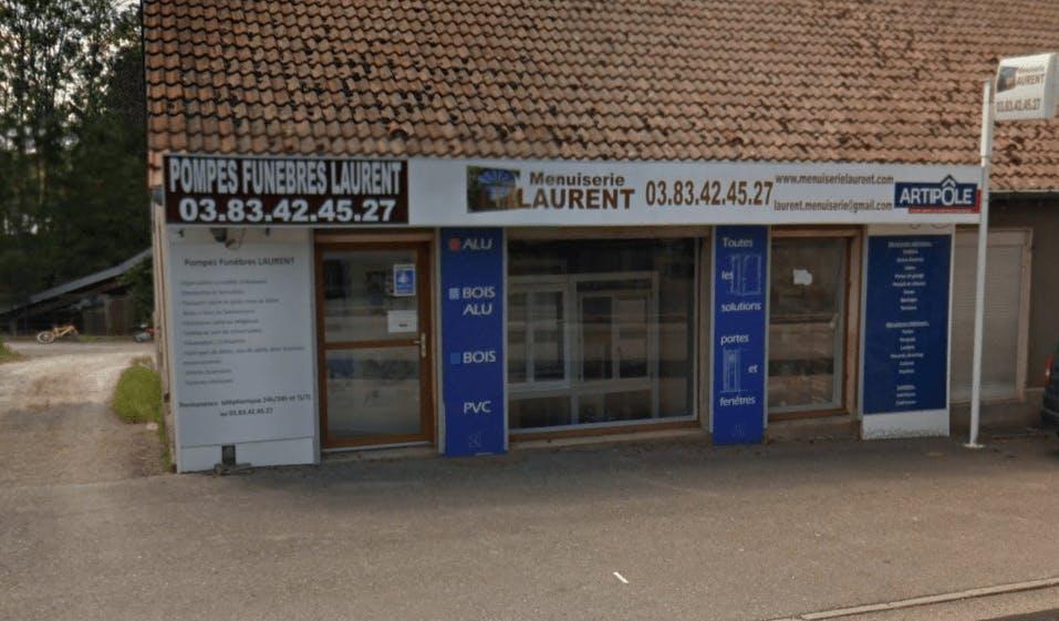 Photographie de la Pompes Funèbres LAURENT de la ville de Avricourt