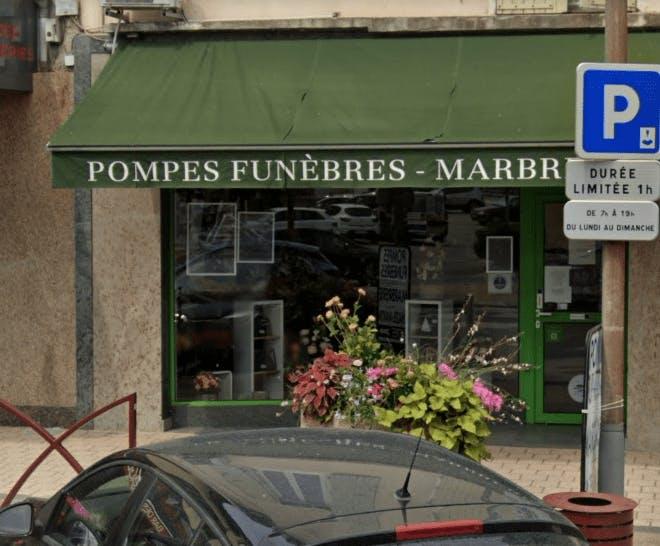 Photographie Pompes Funèbres et Marbrerie Chazel Martin du Pouzin