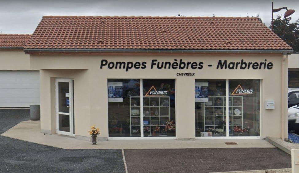 Photographie Pompes Funèbres-Marbrerie Chevreux de Châtenois