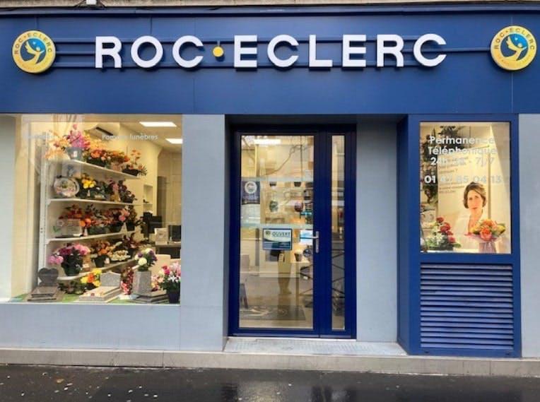 Photographies des Pompes Funèbres Roc'Eclerc à Colombes