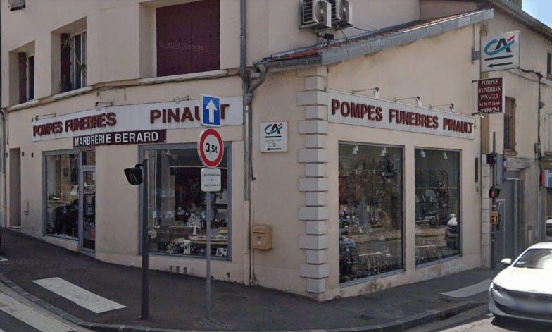 Photographie de la Pompes Funèbres Pinault à Rillieux-la-Pape