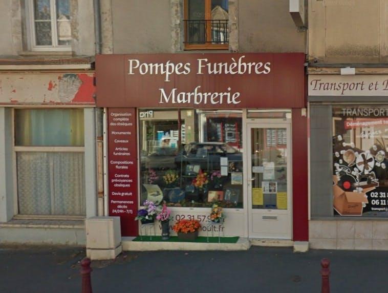 Photographies des Pompes Funèbres et Marbrerie Grimoult à Dozulé