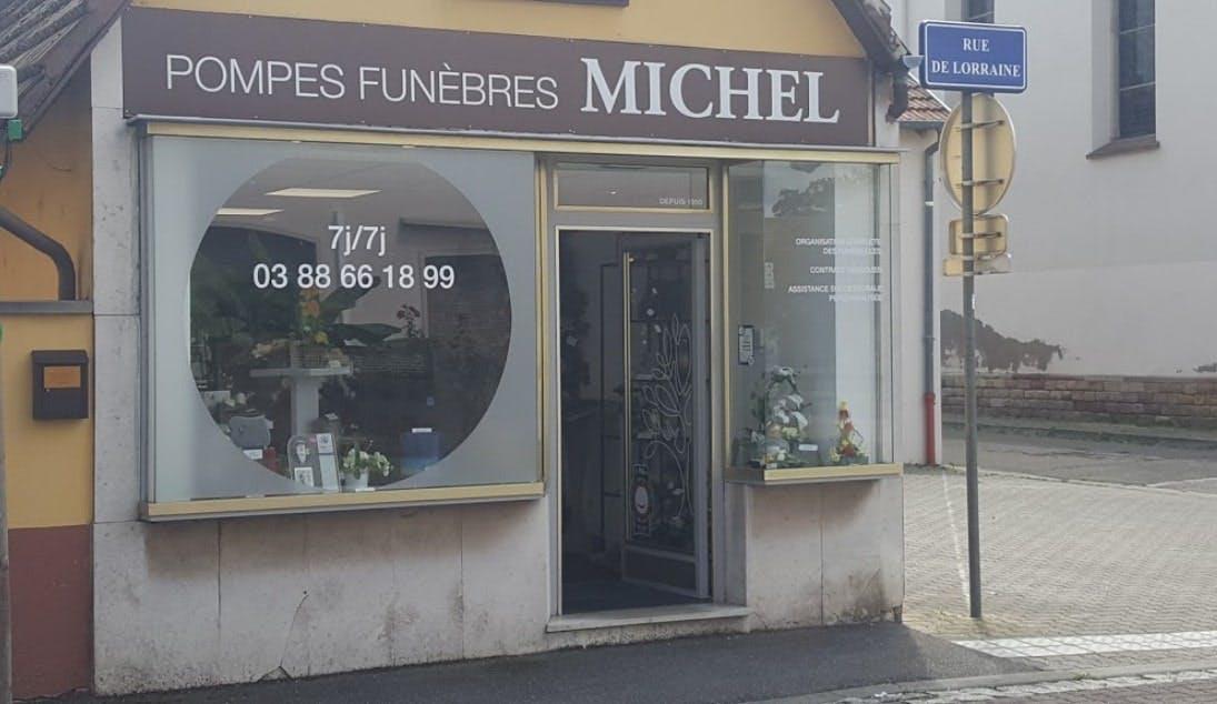 Photographies des Pompes Funèbres Michel à Ostwald