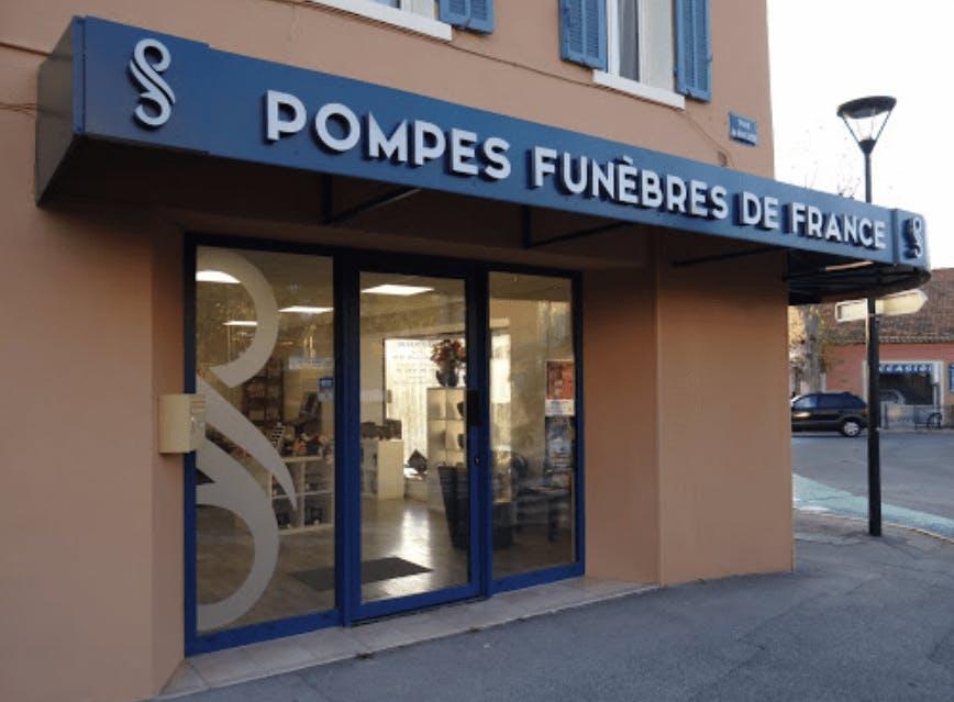 Photographie Pompes Funèbres de France de La Garde