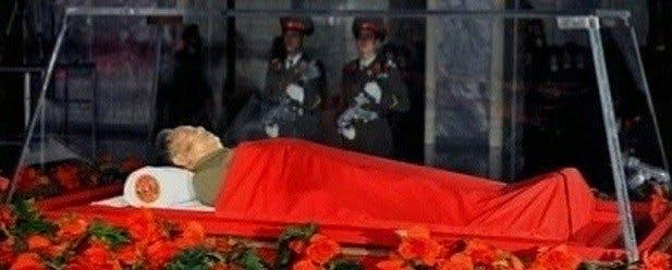 mausolee kim jong il