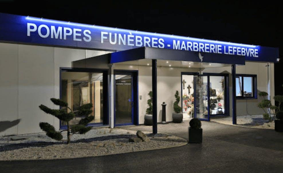 Photographie Pompes Funèbres LEFEBVRE & Fils de Poix-de-Picardie