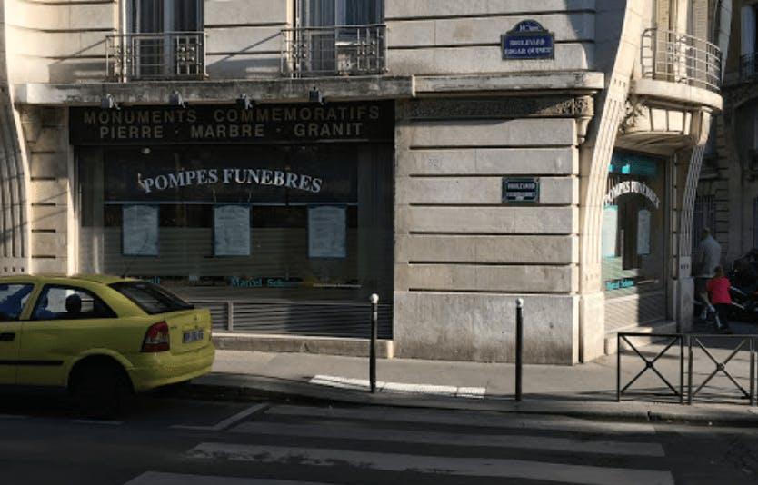 Photographie de la Pompes Funèbres et Marbrerie Marcel Schmit à Paris