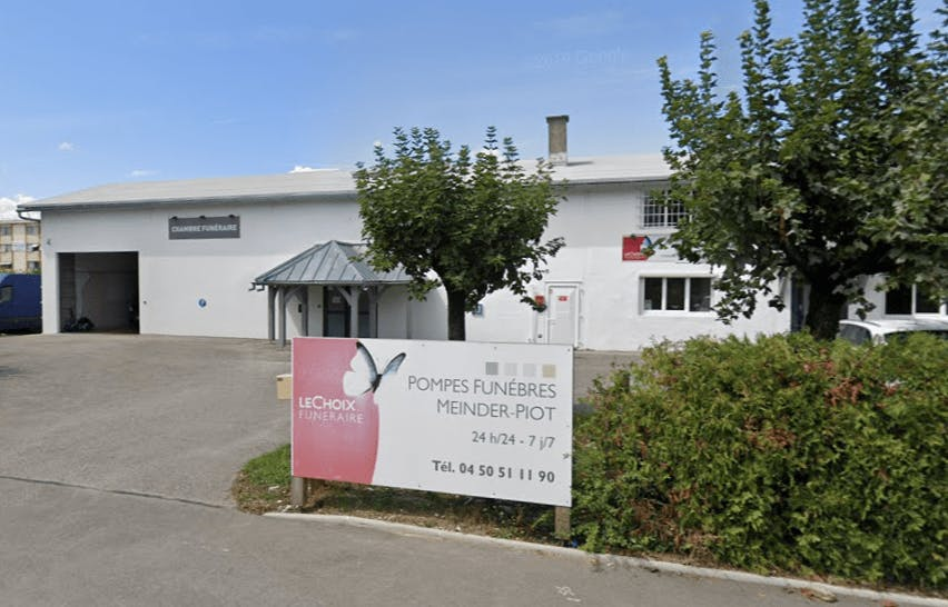Photographie de la Pompes Funèbres MEINDER PIOT - Le Choix Funéraire de Meythet