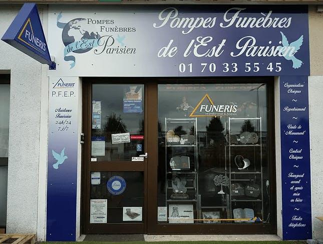 Photographie de la Pompes Funèbres de l'Est Parisien à Roissy-en-Brie