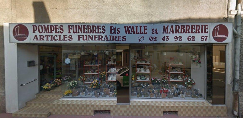 Photographies des Pompes Funèbres Walle à Noyen-sur-Sarthe