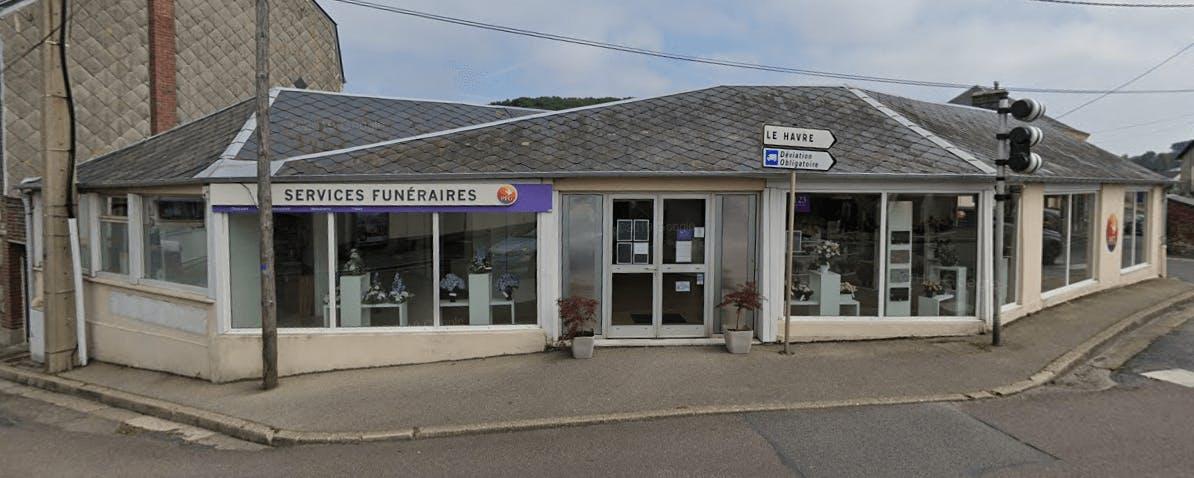 Photographie de la Pompes Funèbres Générales  de la ville de Fécamp