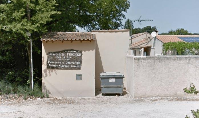 Photographie de la Marbrerie Fischer à Carpentras