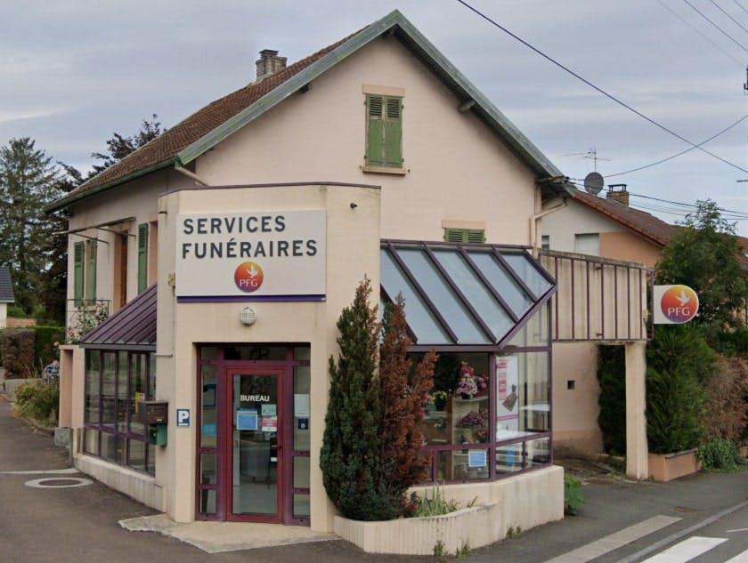 Photographies des Pompes Funèbres Genérales à Audincourt