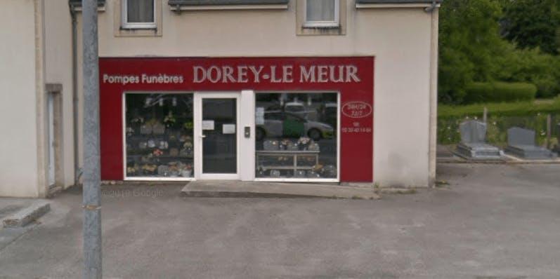 Photographie de la Pompes Funèbres Dorey-Le Meur à Valognes