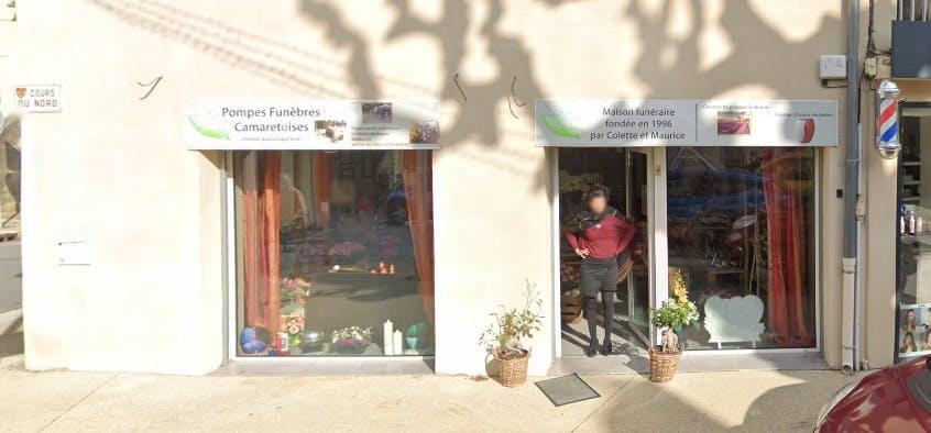 Photographies des Pompes Funèbres Camaretoises à Camaret-sur-Aigues