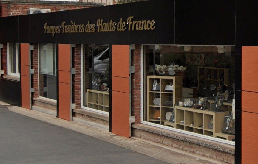 Photographie de la Pompes Funèbres des Hauts de France de la ville de Brebières