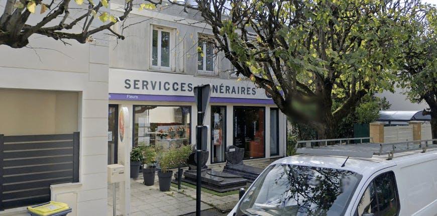 Photographie de la Pompes Funèbres Générales à Le Blanc-Mesnil