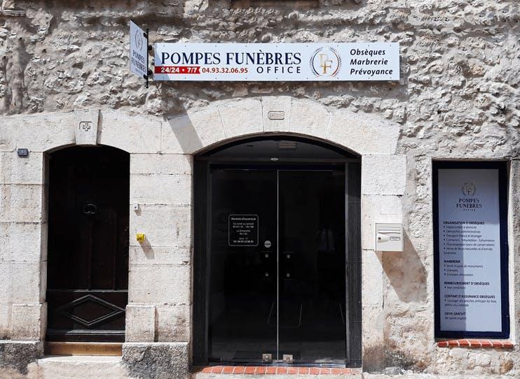 Photographie Pompes Funèbres Office de La Colle-sur-Loup