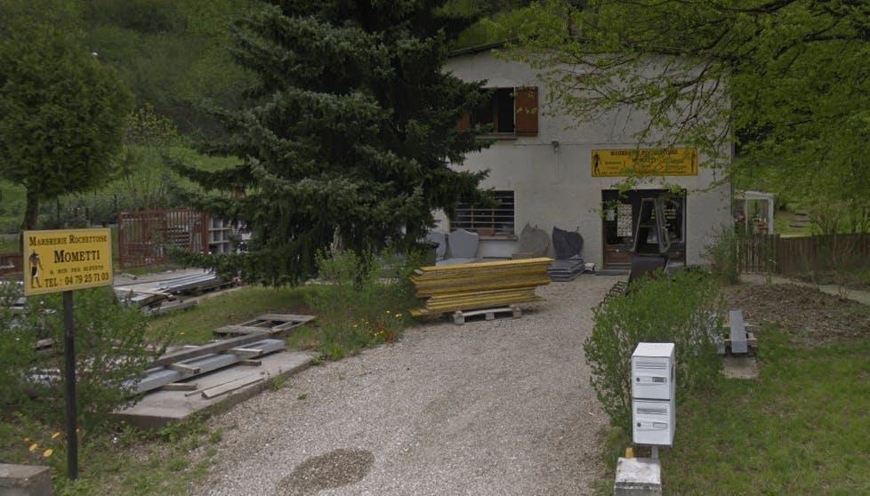 Photographie de la Marbrerie Rochetoise Mometti de la ville de La Rochette
