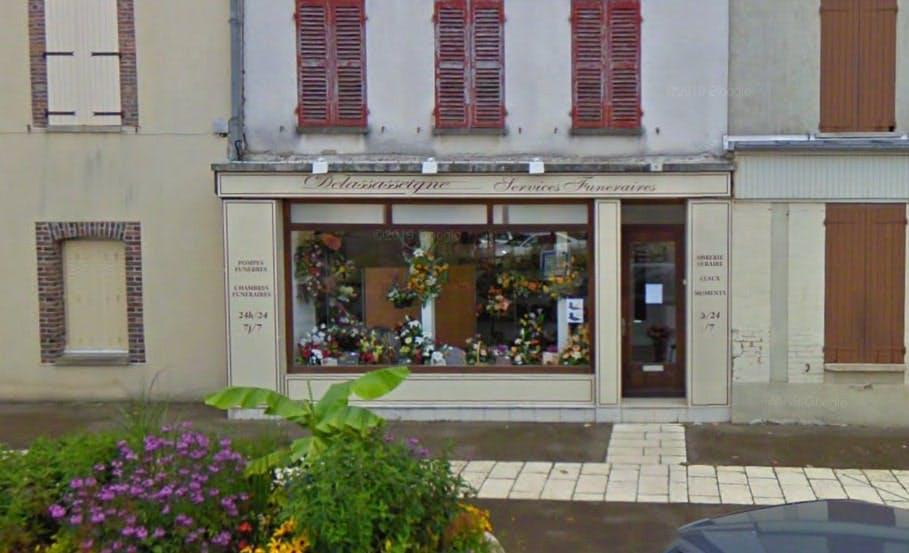 Photographies des Pompes Funèbres Delassasseigne à Villeneuve-l'Archevêque
