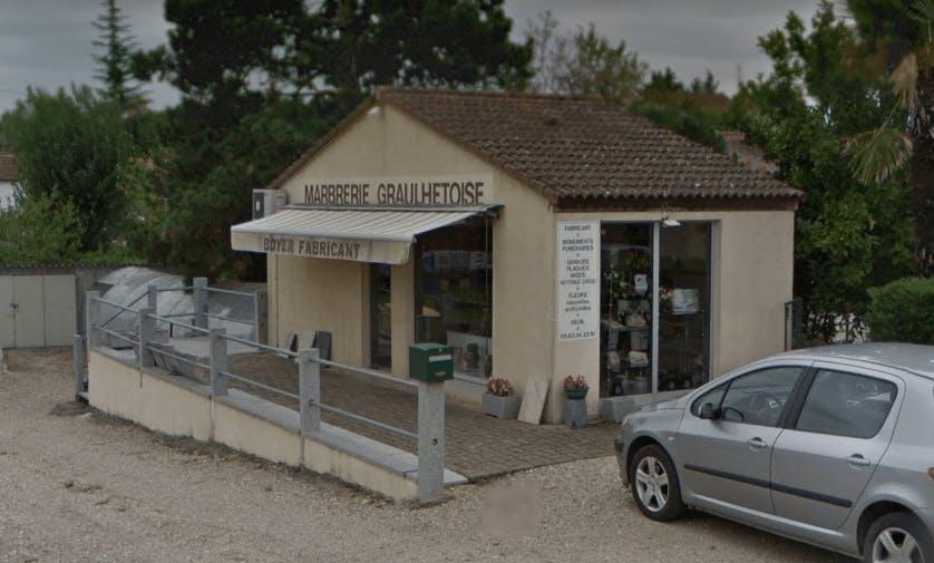 Photographie de la Marbrerie Graulhetoise à Graulhet