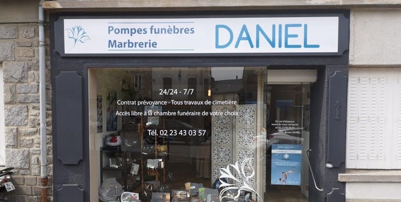 Photographies des Pompes Funèbres Marbrerie Daniel-Priour à Saint-Méen-le-Grand