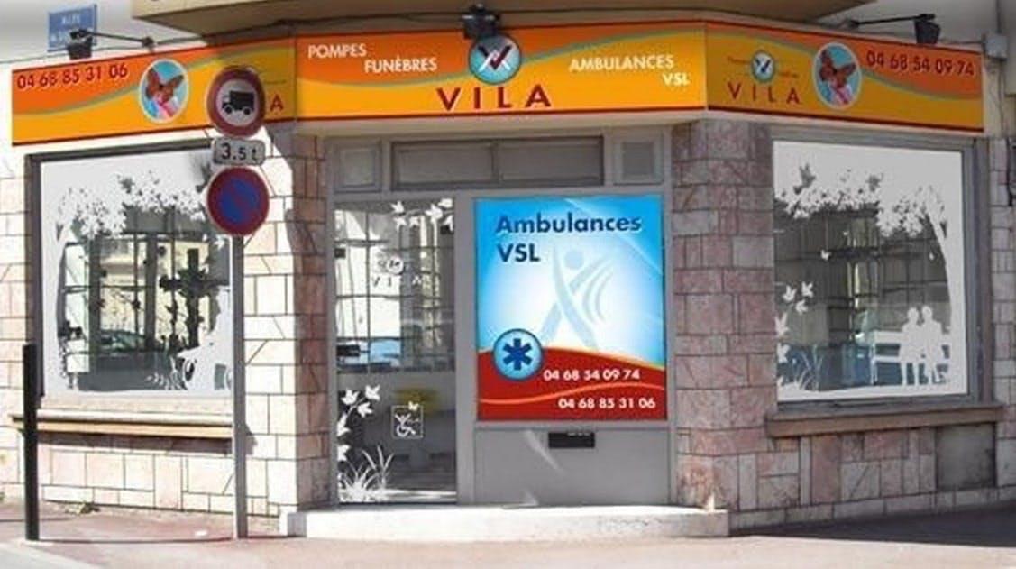 Photographie des Pompes Funèbres & Ambulances Vila à Perpignan
