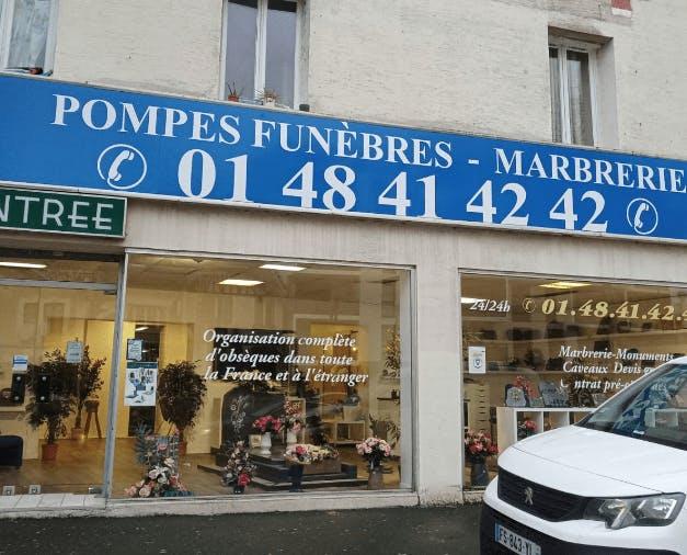 Photographie de l'Agence Funeria à Épinay-sur-Seine
