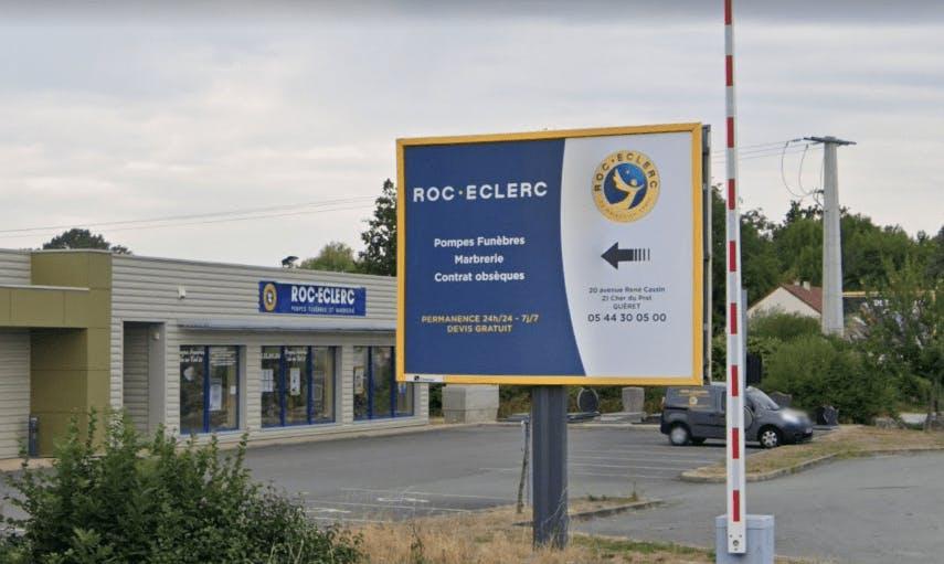 Photographie de la Pompes Funèbres ROC ECLERC à Guéret