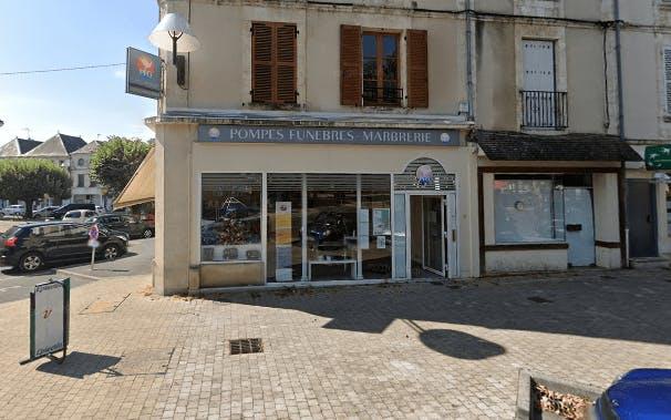 Photographie de la Pompes Funèbres Générales à Issoudun