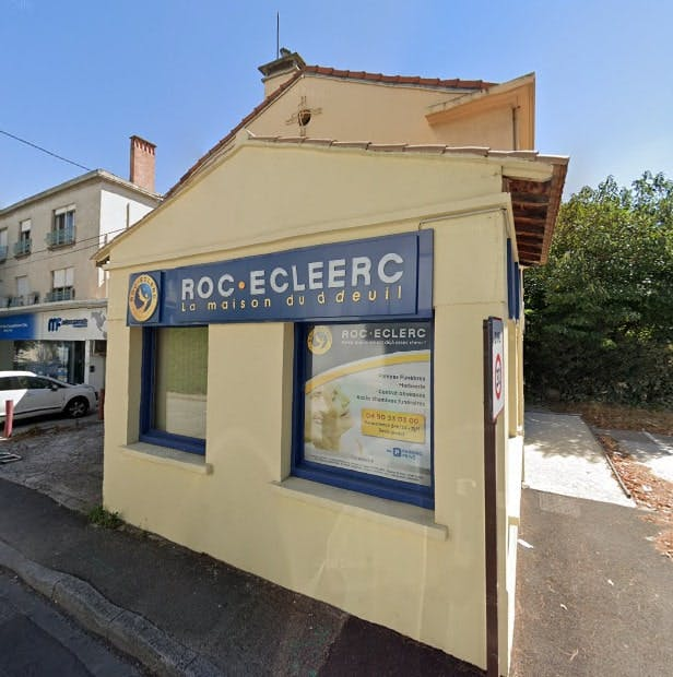 Photographie des Pompes Funèbres Roc-Eclerc à Avignon