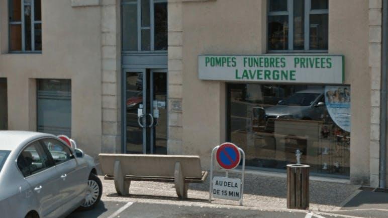 Photographie Pompes Funèbres Lavergne de Pineuilh