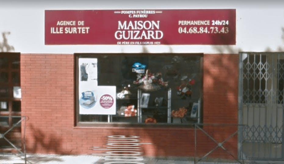 Photographie de la Pompes Funèbres et Marbrerie Maison Guizard à Ille-sur-Têt