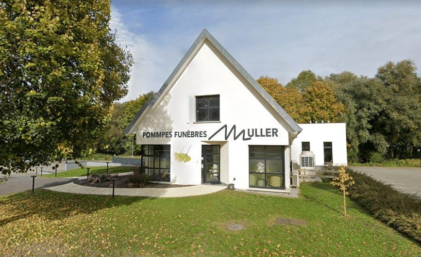 Photographie de la Pompes Funèbres Muller à Wittersdorf